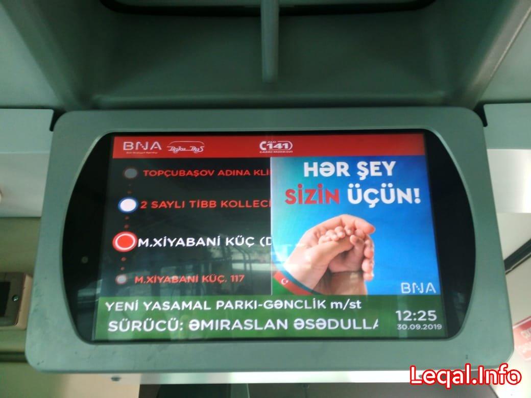 """17 nömrəli marşrut """"Bakubus"""" adına ləkədir"""